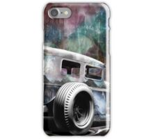 steampunk hot rod iPhone Case/Skin