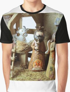 Christmas nativity scene  Graphic T-Shirt