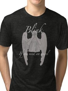 BLINK If You Need an Angel Tri-blend T-Shirt