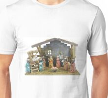 Christmas nativity scene  Unisex T-Shirt