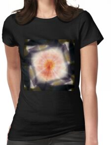 Rays of infinity Womens Fitted T-Shirt
