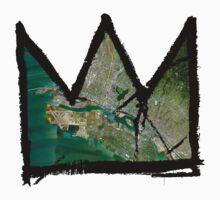 "Basquiat ""King of Oakland Berkeley California"" Kids Clothes"