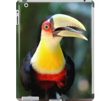 Red Breasted Toucan at Iguassu, Brazil  iPad Case/Skin