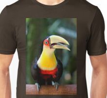 Red Breasted Toucan at Iguassu, Brazil  Unisex T-Shirt
