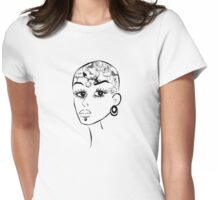 Tattoos girl Womens Fitted T-Shirt