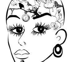 Tattoos girl Sticker