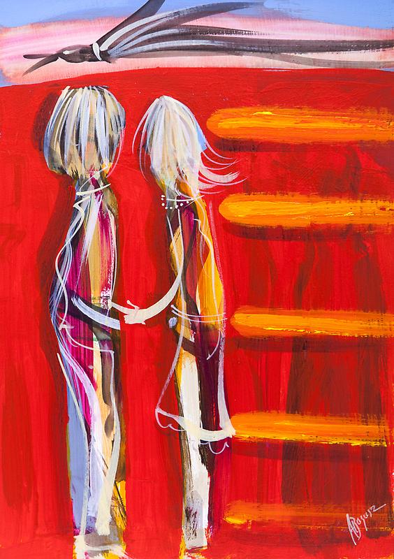 When love flies in by Adam Bogusz