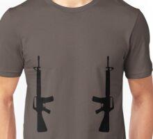 Dual M16s Unisex T-Shirt