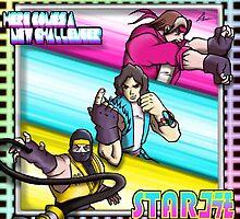 Starbomb Ninja Brian Egoraptor Danny Sexbang by LuisIPT