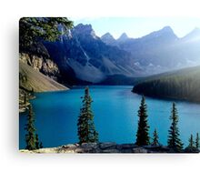 Moraine Lake, Canada Canvas Print