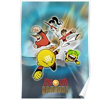 XIAOLIN SACRED HEARTS Poster