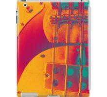 orange hued bass iPad Case/Skin