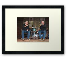 me and myself Framed Print
