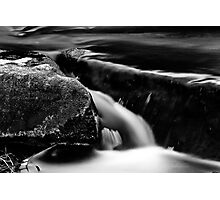 Splitting two rocks Photographic Print