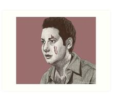 Dead Things - Warren Mears - BtVS S6E13 Art Print