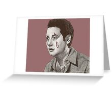 Dead Things - Warren Mears - BtVS S6E13 Greeting Card