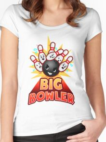 Big Bowler Women's Fitted Scoop T-Shirt