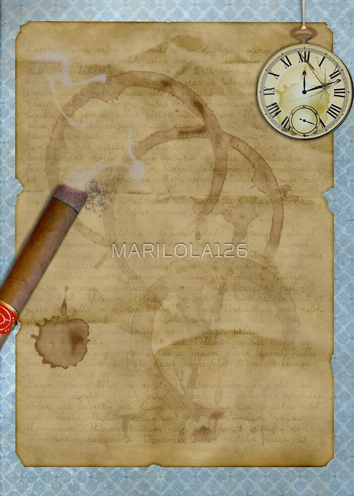 A man's stationery by MARILOLA126