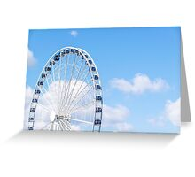 Round and Round We Go Greeting Card