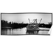 Fishing Trawler Poster