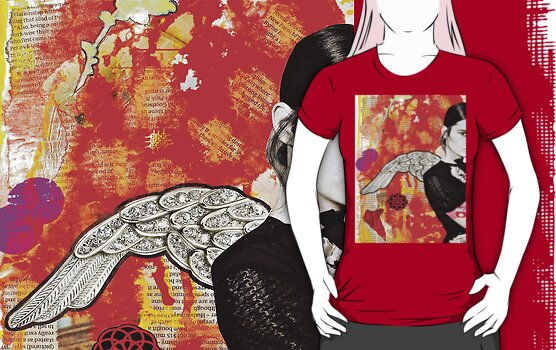 Portrait of A Spanish Angel - Tee by Vikki-Rae Burns
