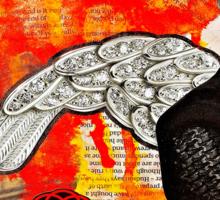 Portrait of A Spanish Angel - Tee Sticker