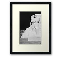 A Man to Remember Framed Print