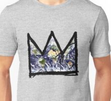 "Basquiat, ""King of The world"" Unisex T-Shirt"