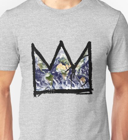 "Basquiat, ""King of The world"" Unisex T-Shirt"
