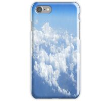 over the clouds iPhone Case/Skin