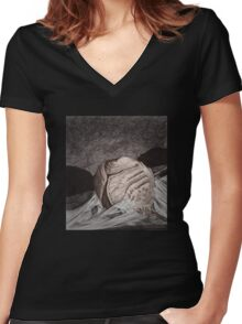 As You Were - BtVS S6E15 Women's Fitted V-Neck T-Shirt