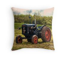 Fordson major E27N  Throw Pillow