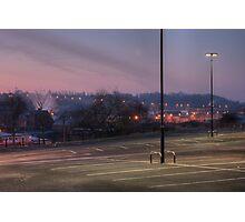 Car park, Bromsgrove Street, Kidderminster Photographic Print