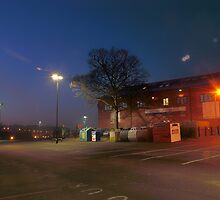 Car park and building, Bromsgrove Street, Kidderminster by Alex Drozd