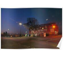 Car park and building, Bromsgrove Street, Kidderminster Poster