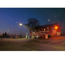 Car park and building, Bromsgrove Street, Kidderminster Photographic Print
