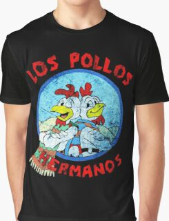 Los Pollos Hermanos Wink (retro) Graphic T-Shirt