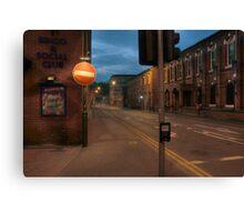 Dixon Street, Kidderminster Canvas Print