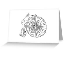 Transportation in 1885! Greeting Card