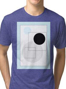 Blue Circles - 4 Tri-blend T-Shirt