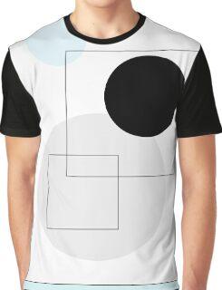 Blue Circles - 4 Graphic T-Shirt