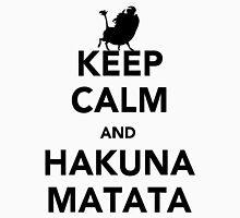 Keep Calm & Hakuna Matata Unisex T-Shirt