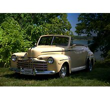 "1946 Ford Convertible ""Back to the Future"" Photographic Print"