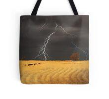 Summer Storm - Mine Road, Kanmantoo, South Australia Tote Bag