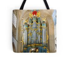 Breda Cathedral organ - vertical Tote Bag