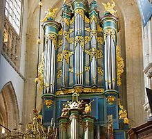Breda Cathedral organ - vertical by churchmouse