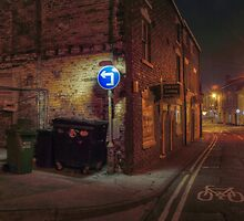 Worcester Street, Kidderminster by Alex Drozd