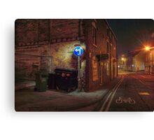 Worcester Street, Kidderminster Canvas Print