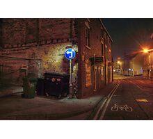Worcester Street, Kidderminster Photographic Print