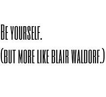 Blair Waldorf Photographic Print
